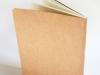 a5 schrift, bruin, houtsnede (achterzijde)