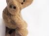hondje van schapenwol met stipjes Labrador