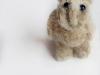 klein beestje van gevonden schapenwol