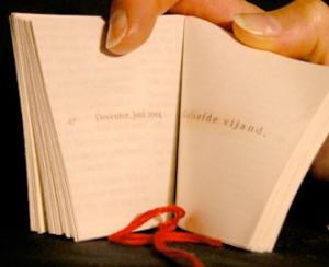 woordenboekje binnenzijde